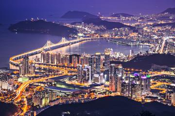 Busan, South Korea Skyline