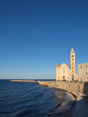 The Cathedral of San Nicola Pellegrino in Trani, Italy.