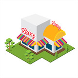 Isometric Big Shop