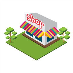 Isometric Medium Shop