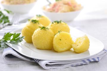 Deftige Kartoffelknödel