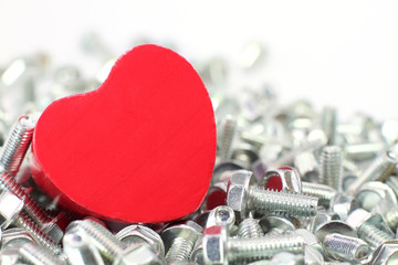Ein Herz für Schrauben