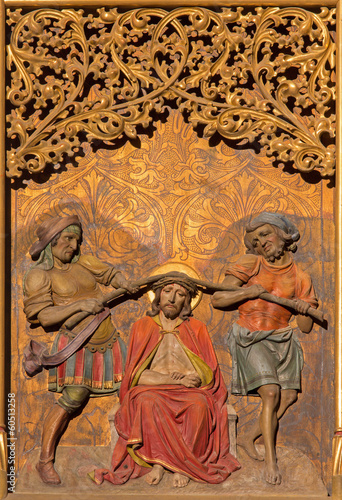 Bratislava - Torture of Jesus with the crown of thorns
