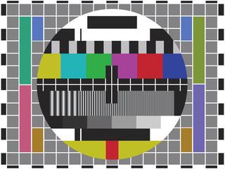 Monoscope - no signal tv