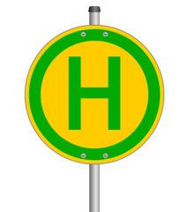 Haltestelle Schild  #140120-svg08