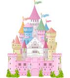 Fototapety Fairy Tale Castle