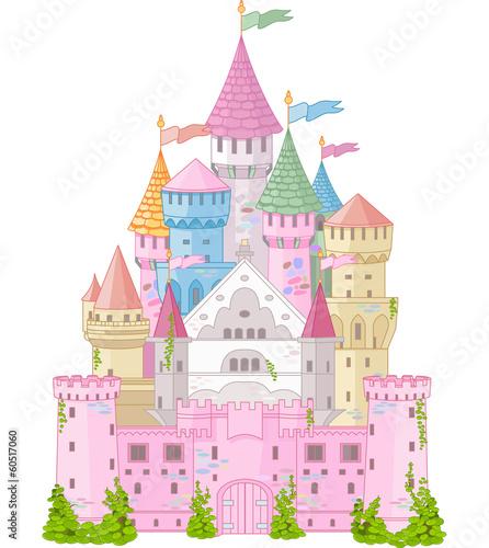 fototapeta na ścianę Bajkowy Zamek