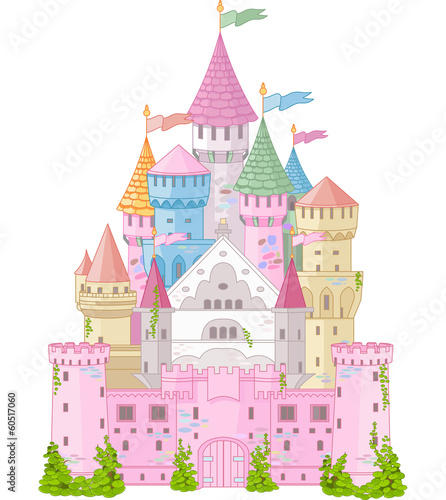 Fototapeta Fairy Tale Castle
