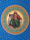 Vienna -  Fresco of one of the four big prophets