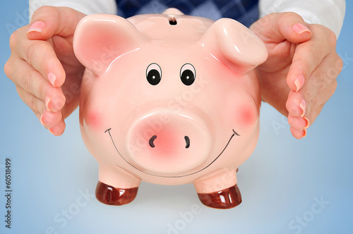 Protect piggy bank
