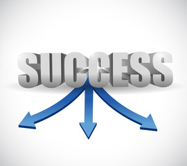 success destinations illustration design