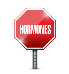 hormones illustration design