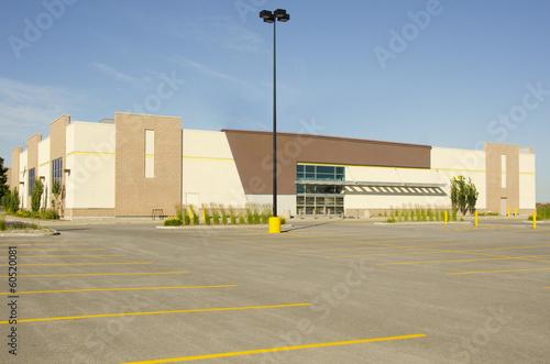 Leinwanddruck Bild Commercial Building