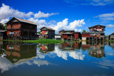 House in Inle lake, Myanmar