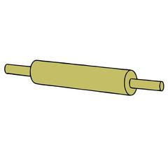 rolling pin vector vector