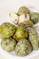 South  fruit cherimoya