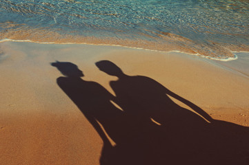 shadow of a couple