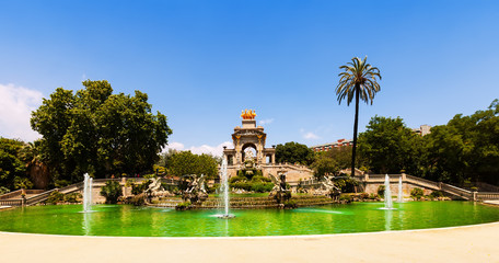Cascada fountain  in Barcelona