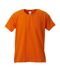 Orange T-Shirt /clipping path