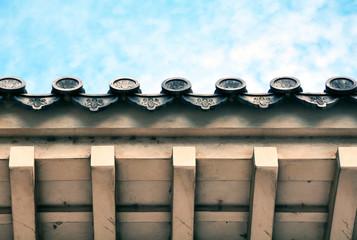 Himeji Castle roof, Kyoto