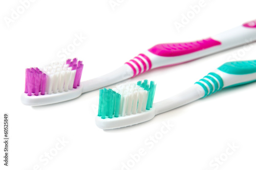 tooth brush isolated on white background