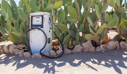 Old style fuel pump