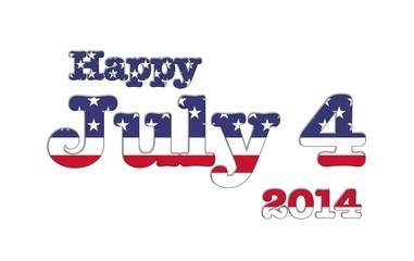 July 4 2014 USA.