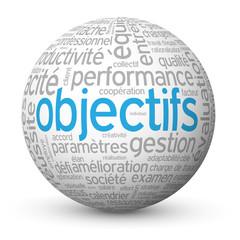 Globe - Nuage de Tags OBJECTIFS (performance management équipe)