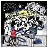 graffiti street art painting