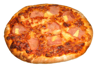 Stone Baked Ham And Pineapple Pizza