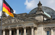 canvas print picture - Deutscher Bundestag / Reichstag
