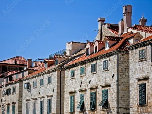 Old houses in Dubrovnik