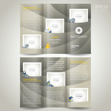 photography brochure design photo camera trifold poster