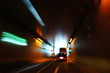 Lichter im Tunnel