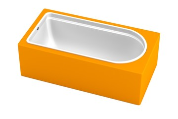 realistic 3d render of bath tub