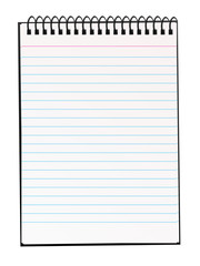 Blank notepad for your own text