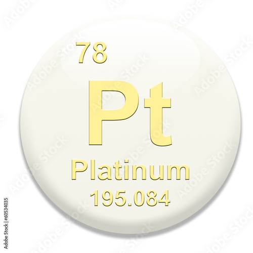 Periodic Table Pt Platinum