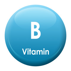 Vitamin B Button