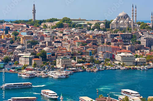 Foto op Aluminium Turkey Golden Horn in Istanbul