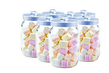jars with candies