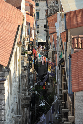 Small street in Dubrovnik