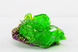 crystal macro photo in emerald color - 60536855