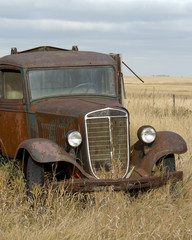 Old Antique Farm Truck