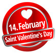 14. February Saint Valentine`s Day