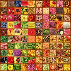 gastronomia in bacheca collage