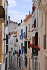A small street in Sitges
