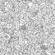 City seamless pattern - 60540447