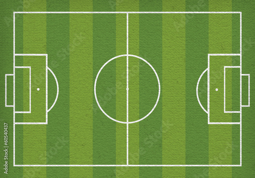 Football field. A bitmap copy of vector illustration