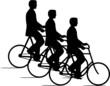 CYCLISTES TRIPLES