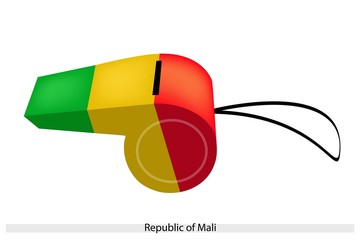 A Whistle of The Republic of Mali